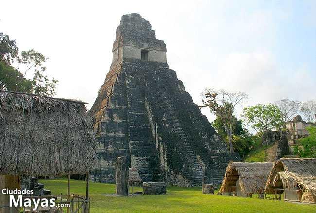 El Gran Jaguar: Templo I de Tikal