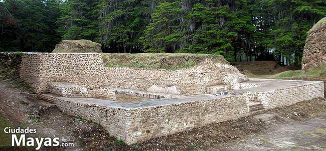 Gumarkaaj Utatlán en Quiché