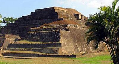 Tazumal maya site