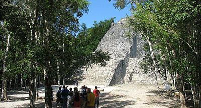Cobá maya ruins