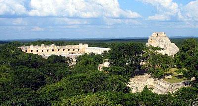 Uxmal en Yucatán