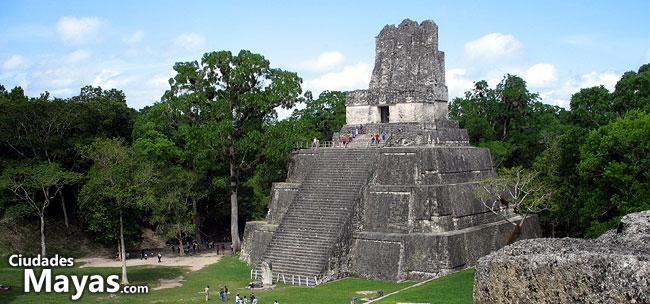 Tikal ciudad de las voces ciudades mayas turismo y for Las construcciones de los mayas